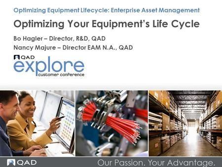 Optimizing Your Equipment's Life Cycle