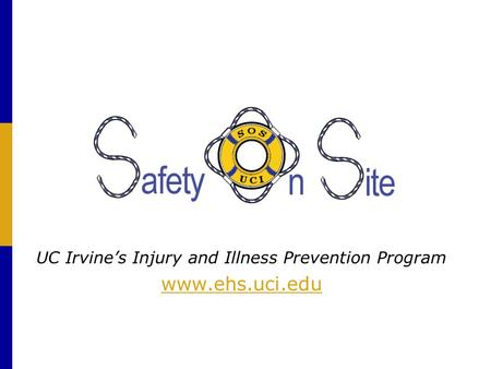 UC Irvine's Injury and Illness Prevention Program