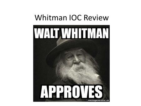when i heard the learnd astronomer by walt whitman Walt whitman born on may 31, 1819, walt whitman is the author of leaves of grass and, along with emily dickinson, is considered one of the architects of a uniquely american poetic voice read more.