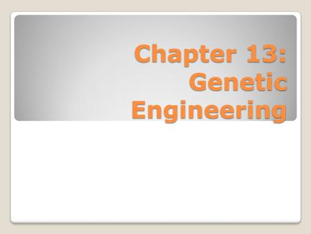 the importance of genetic engineering in curing diseases Start studying microbiology chapter 1 learn vocabulary, terms, and more with flashcards causing disease curing/treating disease preparing food started in the 1990s with the advent of genetic engineering.