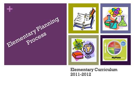 Elementary Planning Process