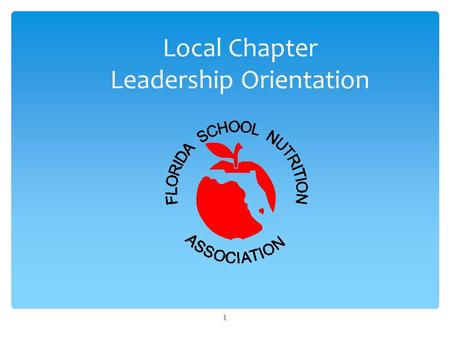 Local Chapter Leadership Orientation 1.  Associations go Waaaaaaay Back  1735: Benjamin Franklin founded the American Philosophical Association  Now.