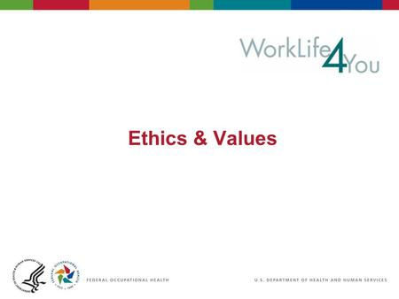 Ethics & Values. 2 06/29/2007 2:30pm eSlide - P4065 - WorkLife4You Objectives Ethics Definition Knowing what is right Doing what is right Skills of the.