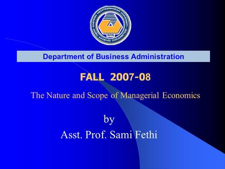 nature and scope of business policy