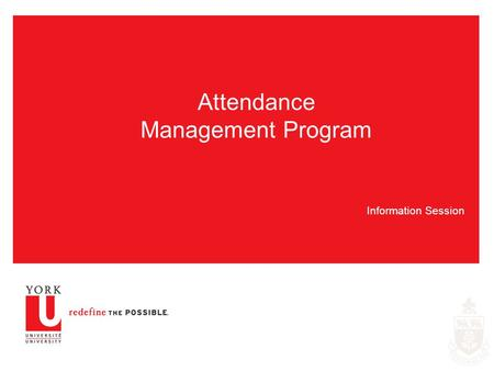 Attendance Management Program
