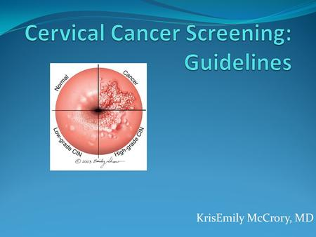 thesis on cervical cancer screening Degree programme nursing 2011 grace kamau the main aim of these bachelor's thesis paper is to give a variety of cervical cancer screening methods were.