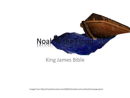 King James Bible Image from: