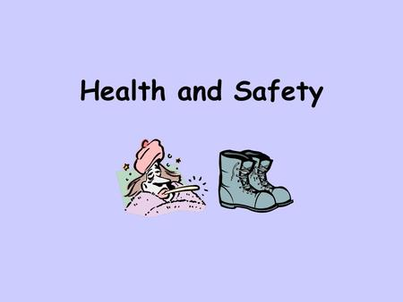 Health and Safety. For your exam you need to be aware of the issues of health and safety in general, and how they relate to the use of ICT in the workplace,