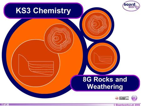 KS3 Chemistry 8G Rocks and Weathering.
