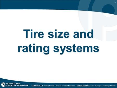 1 Tire size and rating systems. 2 Forces acting on tires The tires must support the weight of the vehicle. The forces of braking, cornering and acceleration.