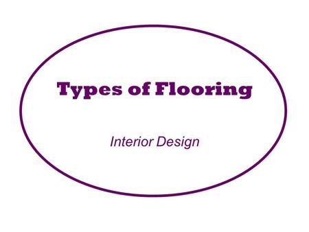 Types of Flooring Interior Design.