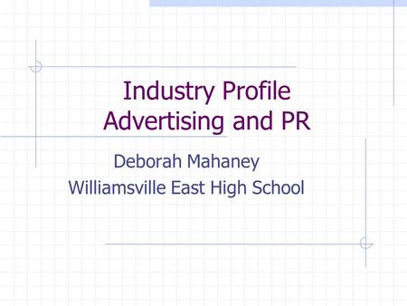 an introduction to the advertising industry The advertising industry is made of companies that advertise, agencies that create the advertisements, media that carries the ads.