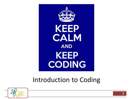 1 Introduction to Coding. 2 Example Codes A lot of example codes are given with Arduino IDE A code can often be based on a previous example rather than.