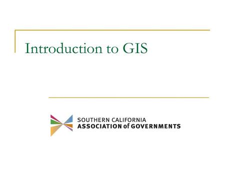 Introduction to GIS. Introductions Your name Where you work Your professional field Have you used GIS before? What we expect to get from this training?