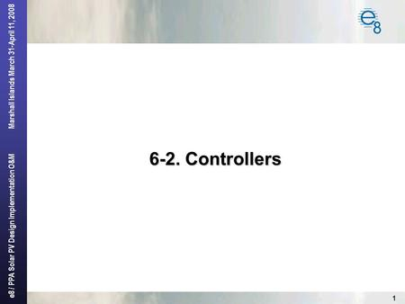 6-2. Controllers.