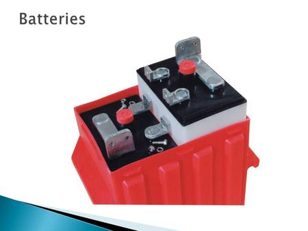  When we look at batteries, we look at voltage and capacity.  Lead Acid Batteries (usually) come as 2v, 4v, 6v, 8v or 12v  Depending on the number.