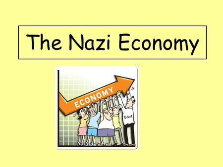 The Nazi Economy. Aims: Identify the methods used by the Nazis to reduce unemployment in Germany by 1939.
