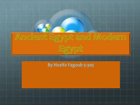 Ancient Egypt and Modern Egypt