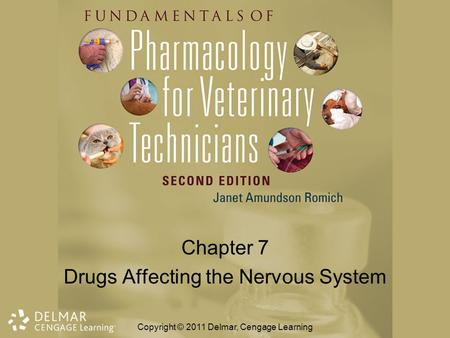 Chapter 7 Drugs Affecting the Nervous System