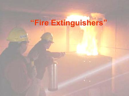 """Fire Extinguishers""."