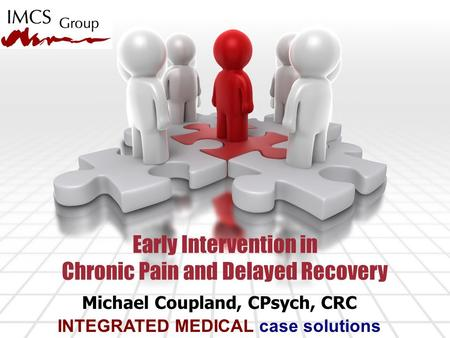 Michael Coupland, CPsych, CRC INTEGRATED MEDICAL case solutions