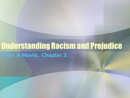 chapter 5 stereotypes prejudices racism