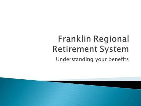 Franklin Regional Retirement System