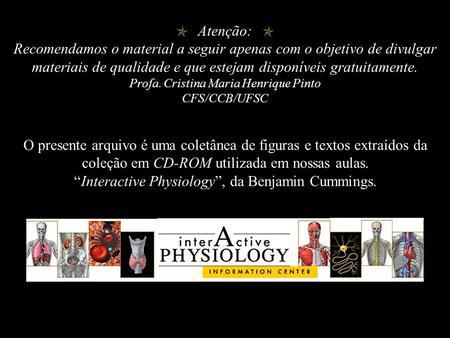"""""""Interactive Physiology"""", da Benjamin Cummings. - ppt download"""