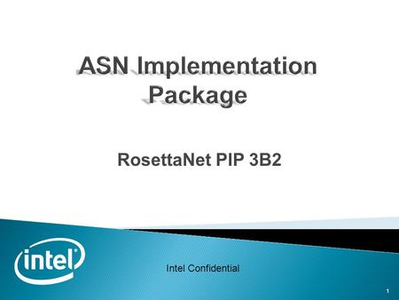 ASN Implementation Package