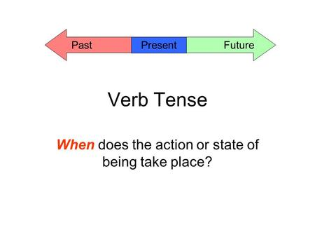 essay tense use Using the present tense to discuss literature and film when you discuss film or literature of any kind (such as a novel or an essay.