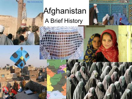 Afghanistan A Brief History. History Has been invaded many times: –Persians from (modern day) Iran –327 BC  150BC: Alexander the Great –Kushans 0 AD.