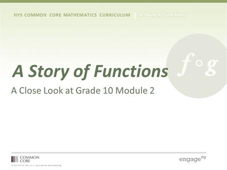 Grade 9 – Module 4 Module Focus Session