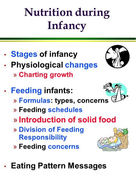 chapter 9 infant nutrition  conditions and interventions