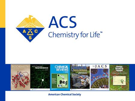 American Chemical Society Traditional & Non-Traditional Careers for Chemists George J. O'Neill, Ph.D. ACS Career Consultant & Workshop Presenter.