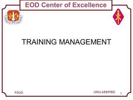 TRAINING MANAGEMENT.