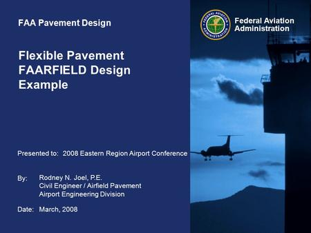 Flexible Pavement FAARFIELD Design Example