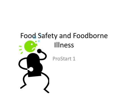 Food Safety and Foodborne Illness ProStart 1. Resultant Knowledge Give examples of potentially hazardous foods. Distinguish between situation in which.