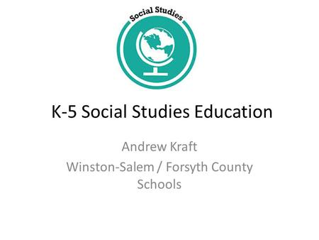 K-5 Social Studies Education