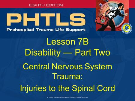 Lesson 7B Disability — Part Two