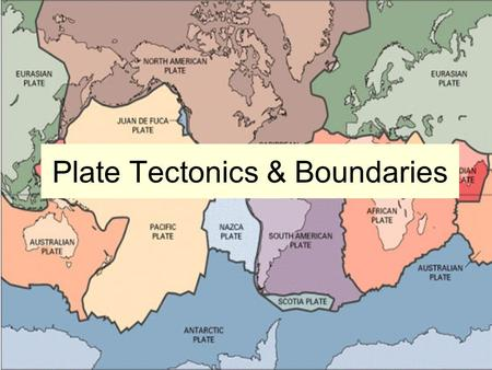 Plate Tectonics & Boundaries. Key Terms 1.diverging 2.converging 3.transform 4.fault 5.tectonic plate Moving apart Moving together Sliding past A break.