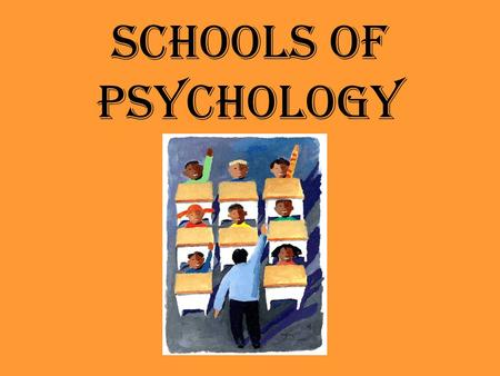 Schools of Psychology. Structuralism—Wilhelm Wundt Definition: School of Psychology that stresses the basic units of experience and combinations in which.