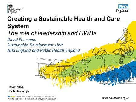 Working across the NHS, Public Health and Social Care system www.sduhealth.org.uk Creating a Sustainable Health and Care System The role of leadership.