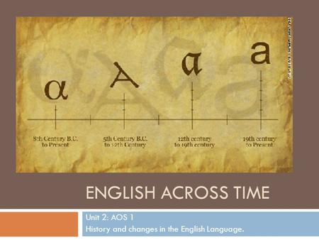 an analysis of language which changes with history and time Language change is both obvious and rather mysterious  tion, and over  time significant changes in the phonology of a language can result  correct  analysis of a word (at least from a historical perspective) and does.
