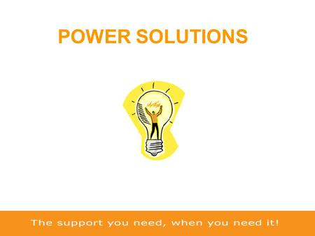 POWER SOLUTIONS. Who are Sinecare…..? …….a world wide uninterruptible power supply company! Sinecare Ltd expertise in providing professional backup power.