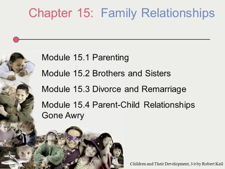 Chapter 15: Family Relationships