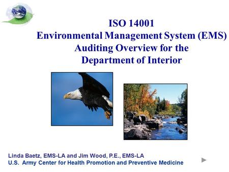 ISO Environmental Management System (EMS)