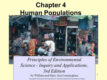 Chapter 4 Human Populations