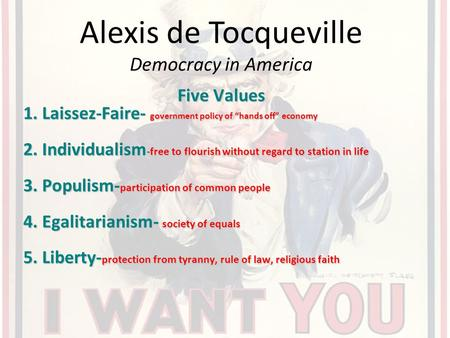 """a letter about alexis de tocquevilles text democracy in america Alexis de tocqueville had a very broad understanding of """"poetry,"""" which he  described as  letter to pierre-paul royer-collard, """"it seems as though the  imagination of grandeur is dying out  these texts emphasize tocqueville's  commitment  frames the introduction to the first volume of democracy in  america, and is the."""