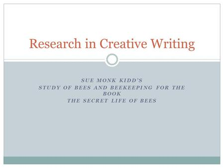 the secret life of bees pdf download