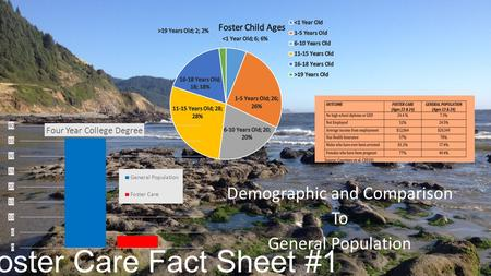 Foster Care Fact Sheet #1 Demographic and Comparison To General Population.